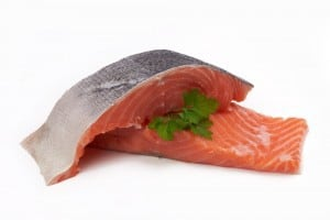 Fish filet.