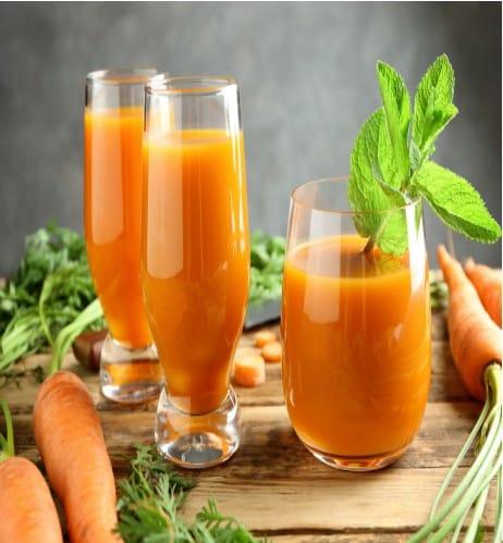 Hacer zumo de zanahoria para una mejor salud