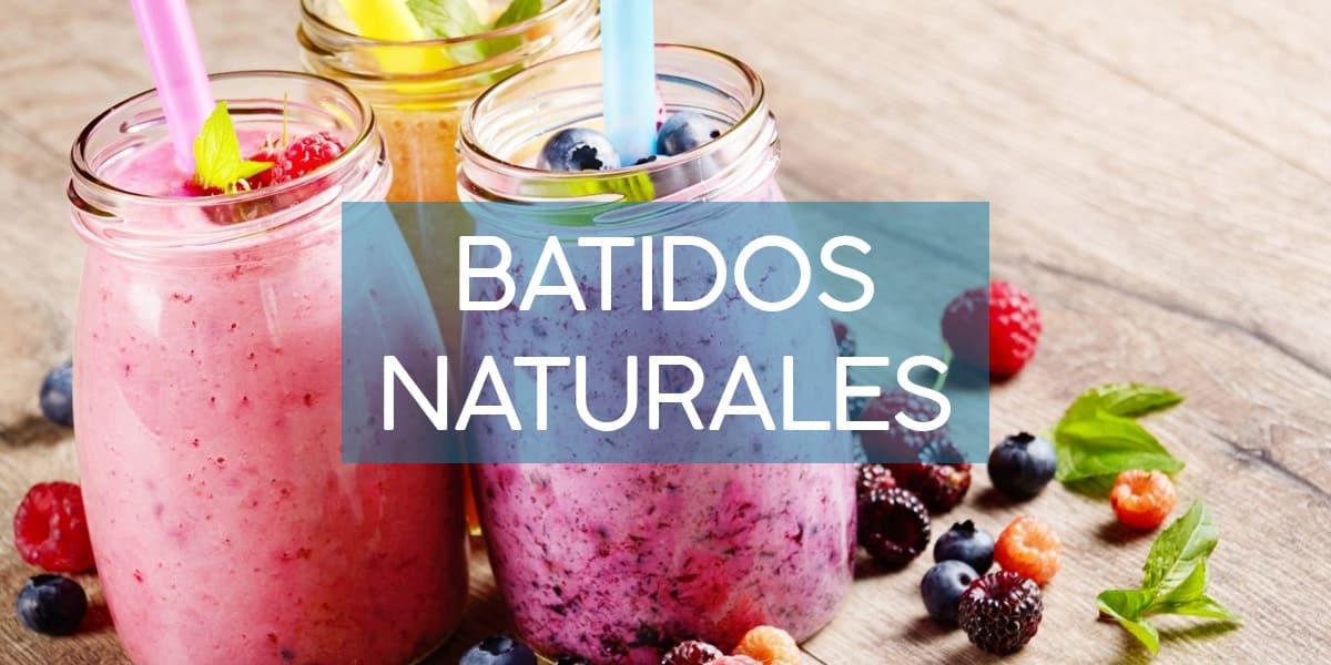 batidos de frutas naturales
