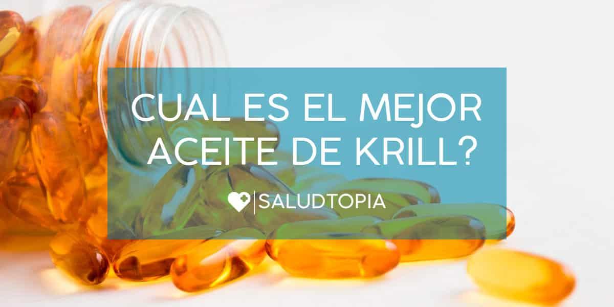 Cual es el mejor aceite de krill